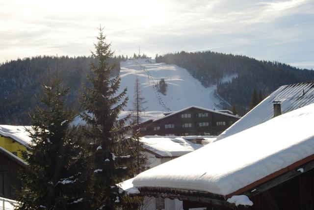 Aussicht zur Olympiasprungschanze